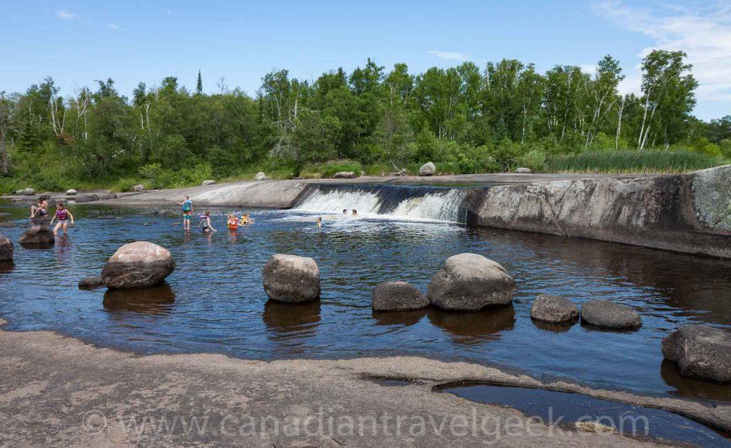 Rainbow Falls - Whiteshell Provincial Park, Manitoba