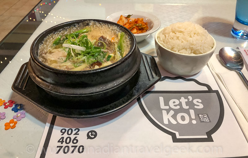 Yummy food at Let's Ko!